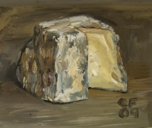 Christian Furr Cheese Painting